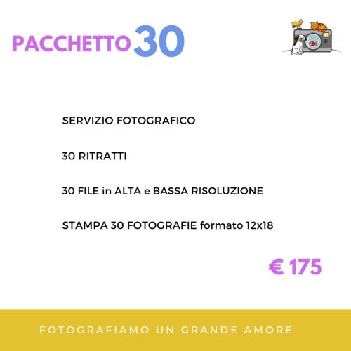 fotografiAMOpet pacchetto 30